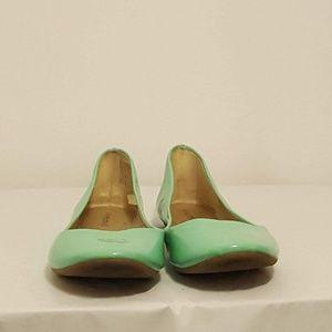 Xhilaration Ballet Flats- Women's 11 Mint Green